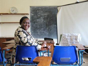 The lack of highly qualified health workers such as midwives is a major problem in Uganda, says Rose Chalo Nabirye. (Foto: Runo Isaksen, SIU))