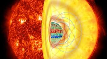 Stjerneskjelv røper magnetisk indre