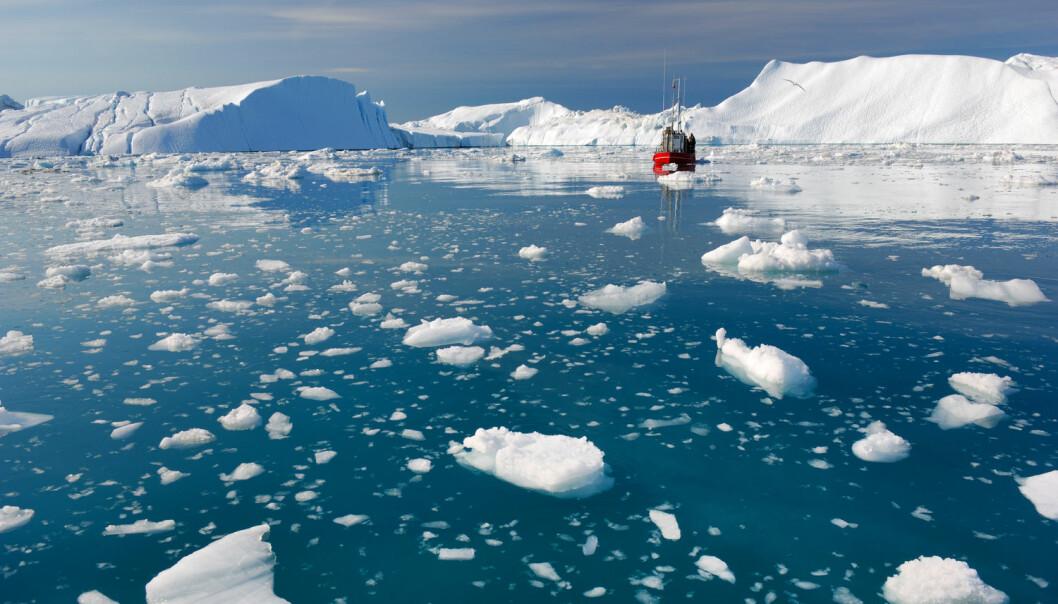 Det havner mye mer smeltevann i havet enn forskerne hittil har antatt. Det kan innebære at estimatene for fremtidens havnivå må oppjusteres. (Illustrasjonsfoto: Shutterstock, NTB scanpix)