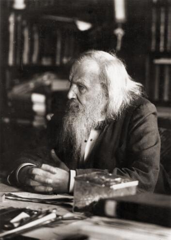 Dmitri Mendelejev i 1897. (Foto: Publix Domain, Wikipedia)