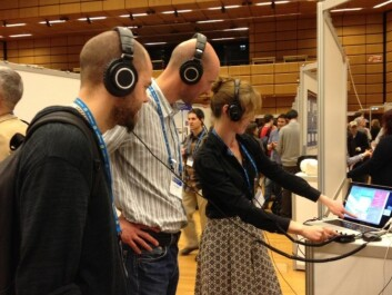 From the European Geoscience Union Conference in Vienna in April this year. (Photo: Gunhild M. Haugnes)
