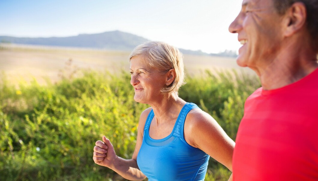 Treningsvaner påvirker hvordan kroppen takler et hjerteinfarkt i tiden etterpå. Det er aldri for sent å begynne å trene. (Illustrasjonsfoto: Colourbox)