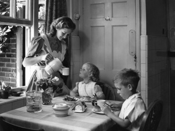 The kitchen's role has changed a lot since the 1950s. (Photo: NTB scanpix)