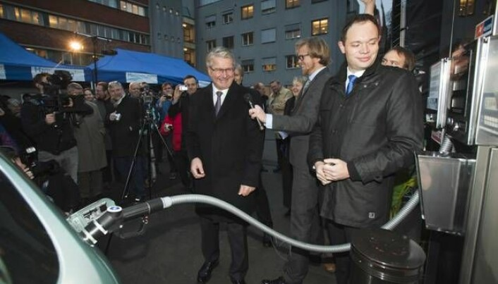 Highlighting hydrogen cars in Oslo