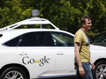 Google – a company that also develops new products Here, Chris Urmson, director of Google's Self-Driving Car Project, stands in front of a self-driving car after a presentation in Mountain View, California in May, earlier this year. (Photo: Stephen Lam/REUTERS)
