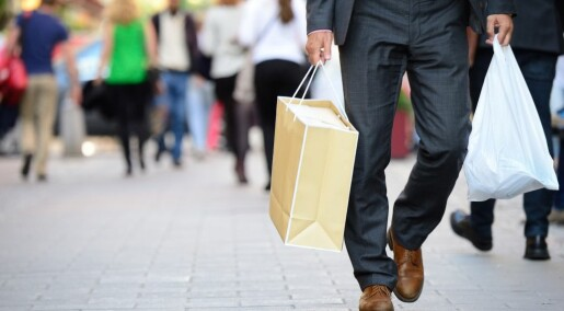 Ser ned på etiske shoppere