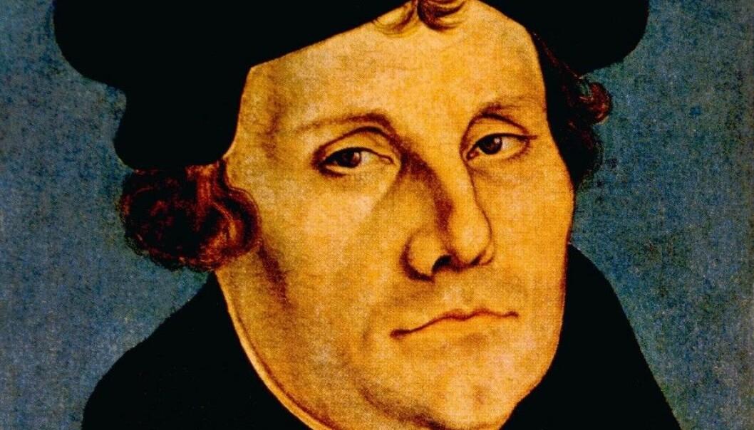 Martin Luther (1483–1546), slik han ble portrettert av Lucas Cranach i 1529. (Foto: Shutterstock)