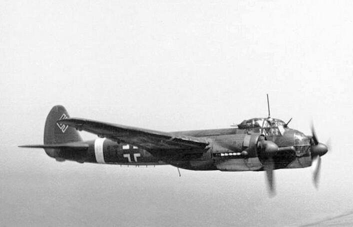 Et fly av typen Junkers JU 88 styrtet på Jan Mayen i 1942. Det ble ikke funnet før i 1950. Værforholdene her kan være tøffe. Illustrasjonsfoto: Bundesarchiv (Illustrasjonsfoto: Bundesarchiv)