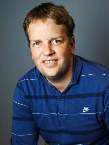 Hans Olav Hygen er seksjonsleder for klimainformasjon ved Meteorologisk institutt.  (Foto: Bård Gudim)