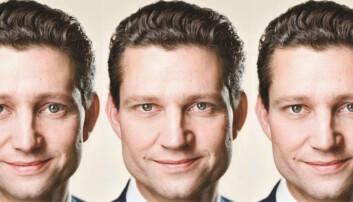 Brede kinnbein og milde øyne kan måles i valgresultater. Til venstre: den ekstra milde Ole Hækkerup (Socialdemokraterne). I midten: den bryske Hækkerup, og til høyre: den virkelige Hækkerup.