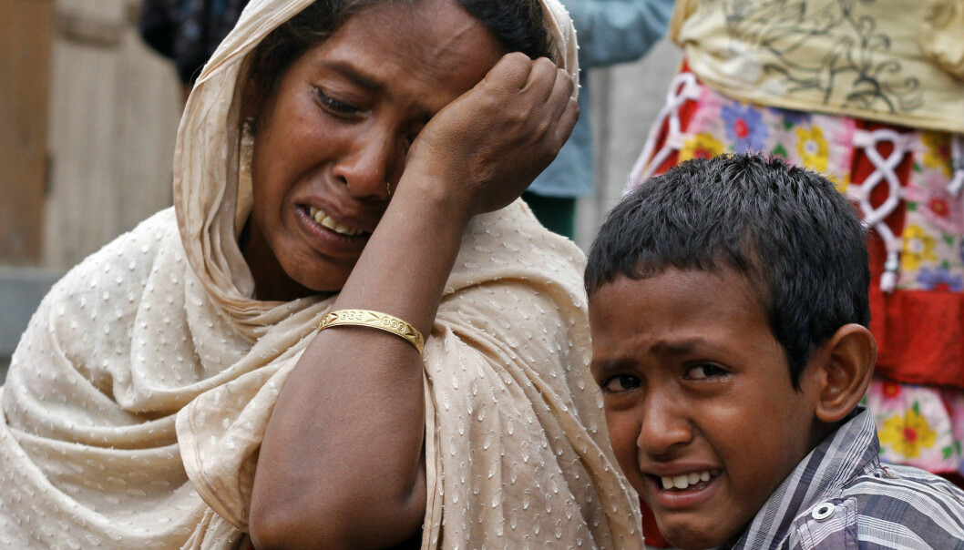 Villagers from Muslim communities affected by ethnic violence weep at a relief camp. (Photo: Utpal Baruah/Reuters)