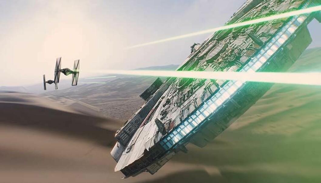 Vitenskap som er utført med bakgrunn i Star Wars, blir ofte brukt i undervisningsøyemed.   (Foto: © Lucasfilm Ltd. & TM. All rights reserved)