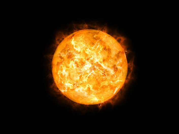Sola vokser, og vil med tiden heve den globale gjennomsnittstemperatur dramatisk – kanskje opp til seksti grader. (Foto: Shutterstock)