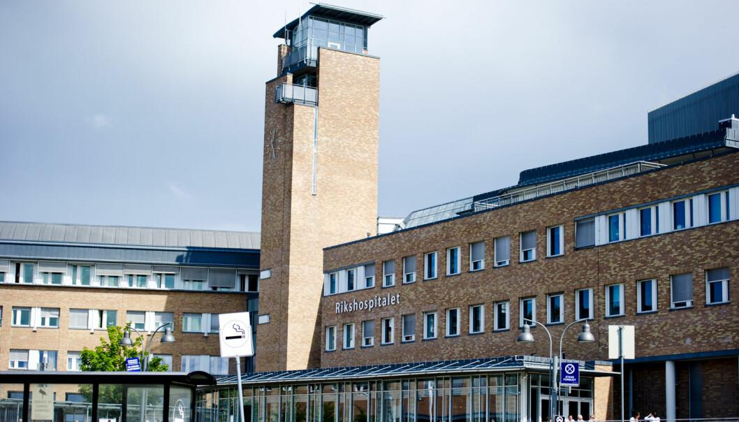 Siden 2010 har Oslo universitetssykehus brukt 970 millioner kroner på leie av lokaler. (Illustrasjonsfoto: Jon Olav Nesvold, NTB scanpix)