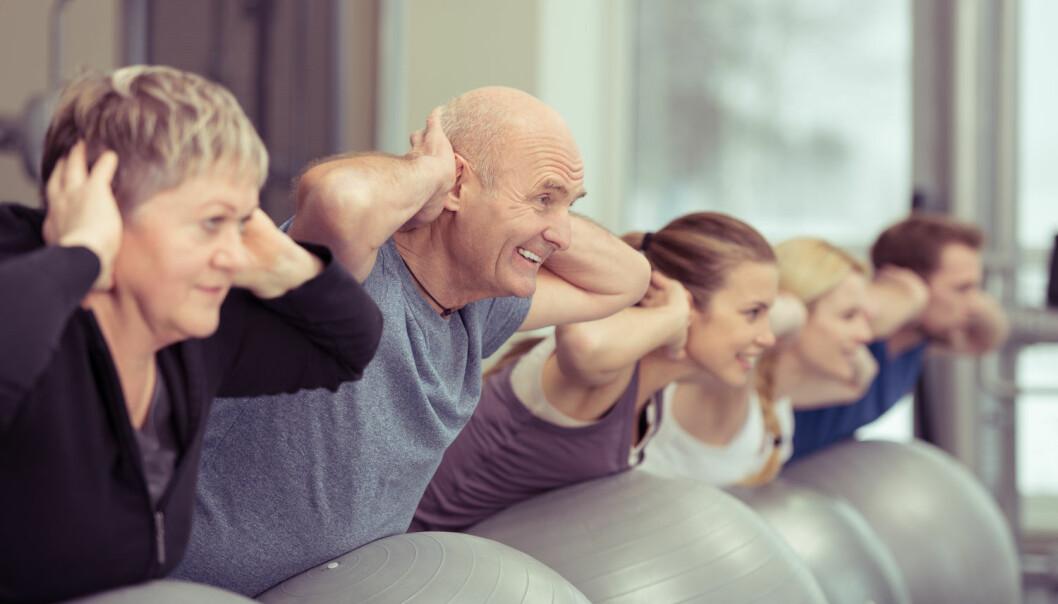 Den rette treningen kan virke som god medisiner mot en rekke sykdommer, fra angst til diabetes. (Illustrasjonsfoto: Shutterstock)