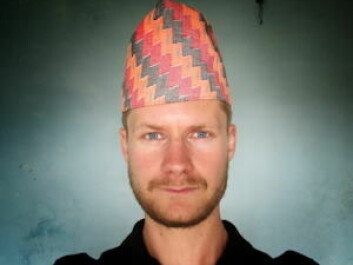 Currently on fieldwork in Nepal: Mikkel Vindegg. (Photo: Private)
