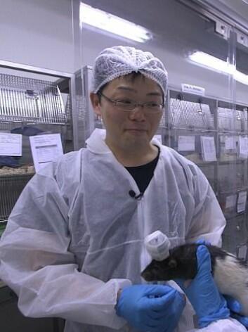 Hiroshi Ito er forsker ved Kavliinstituttet, laben til nobelprisvinnerne May-Britt og Edvard Moser. (Foto: Per Ivar Rognes, NRK)