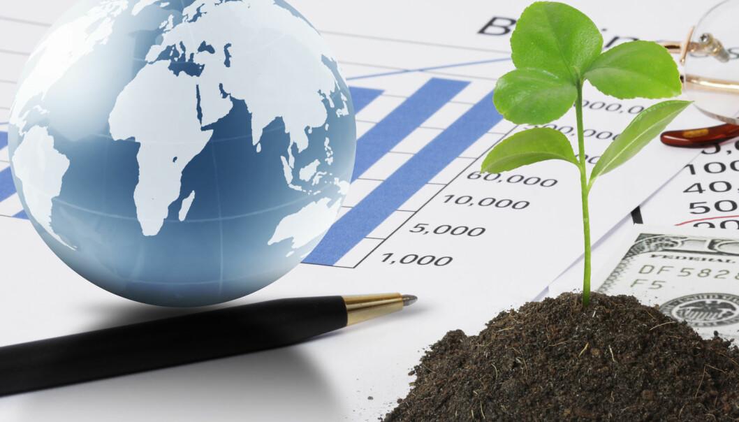 Rike investerer grønt når dei tener på det