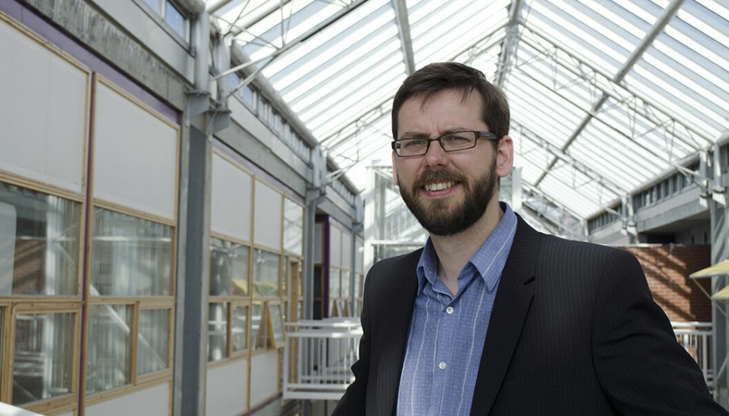 Espen Storli, associate professor in the Department of Historical Studies, is studying hidden companies and their effect on world trade.  (Photo: Åshild Berg-Tesdal)