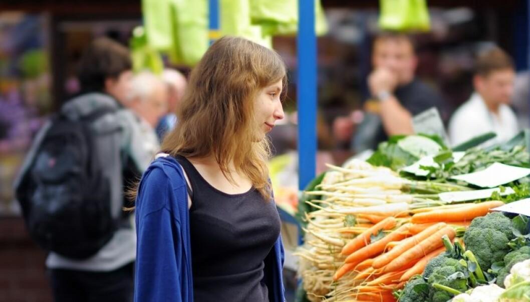 Veganere får ikke alltid i seg de næringsstoffene de trenger. Noe av årsaken kan være at kroppen ikke greier å ta opp de vitaminene og mineralene som er i maten.  (Illustrasjonsfoto: Colourbox.)