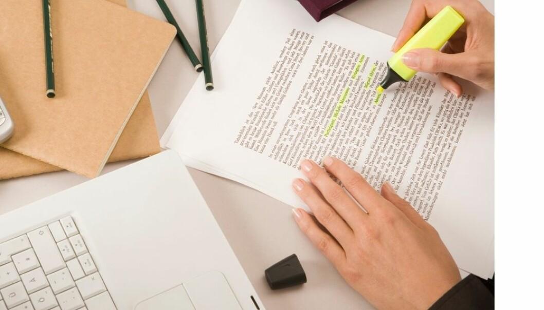 Mange akademikere klarer ikke å skrive