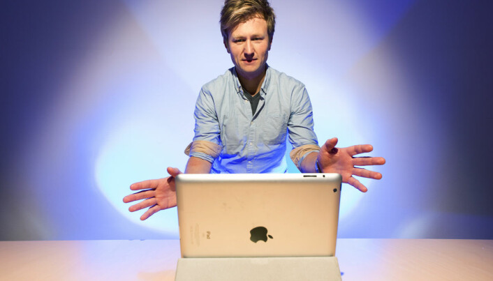 Controlling mobile phones and tablets with hand movements