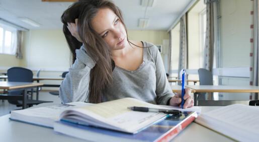 Psykisk helse avgjørende for om du dropper ut av skolen