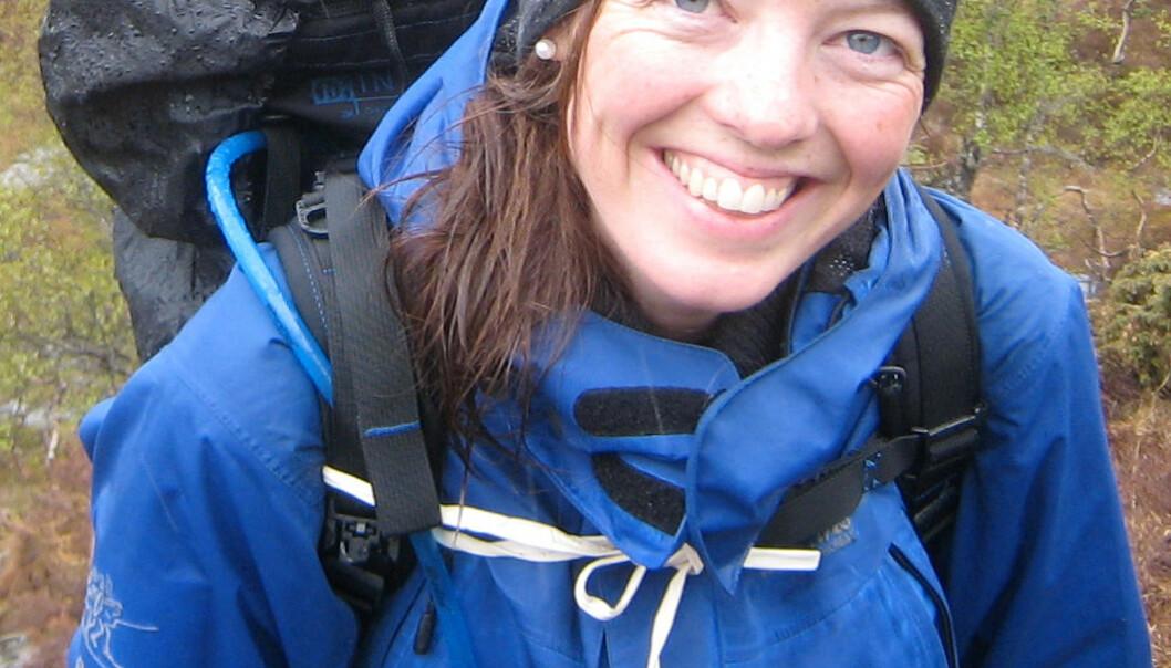 Solbjørg Makalani Myrtveit tok doktorgraden i medisin på tre år, ett år kortere enn stipendet varte. – Det gikk greit, og jeg kom igang med selve avhandlingen om nakkesleng bare noen få uker etter oppstart, forteller hun.  (Foto: Privat)