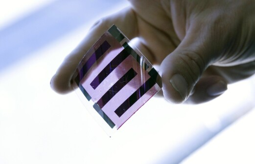 Plastic solar cells see the light of day