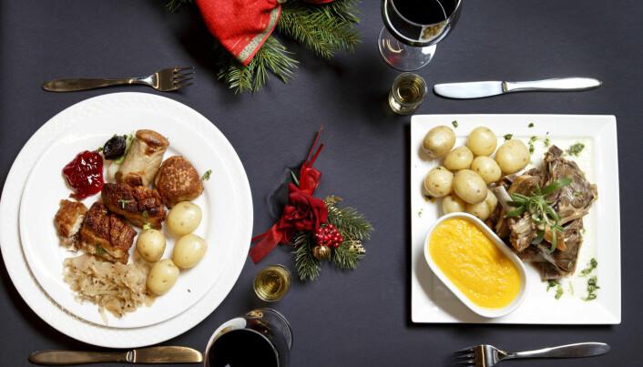 Vestlandet mot Østlandet: 76 prosent av vestlendingene spiser pinnekjøtt på julaften. 76 prosent av østlendingene spiser svineribbe. (Foto: Gorm Kallestad, NTB scanpix)