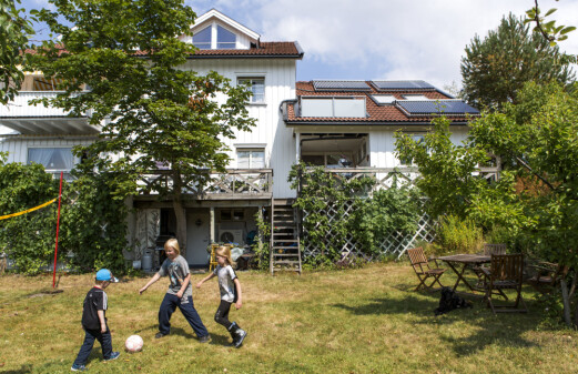The typical Norwegian solar heating system owner is a man in his mid-fifties