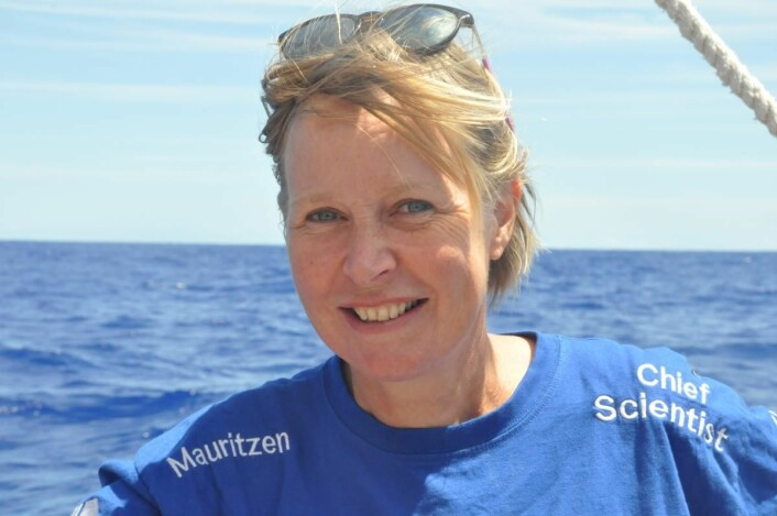 Cecilie Mauritzen har levert sin siste blogg for forskning.no, og starter i januar som forskningssjef ved NIVA. (Foto: Håkon Wium Lie, Kon-Tiki 2)