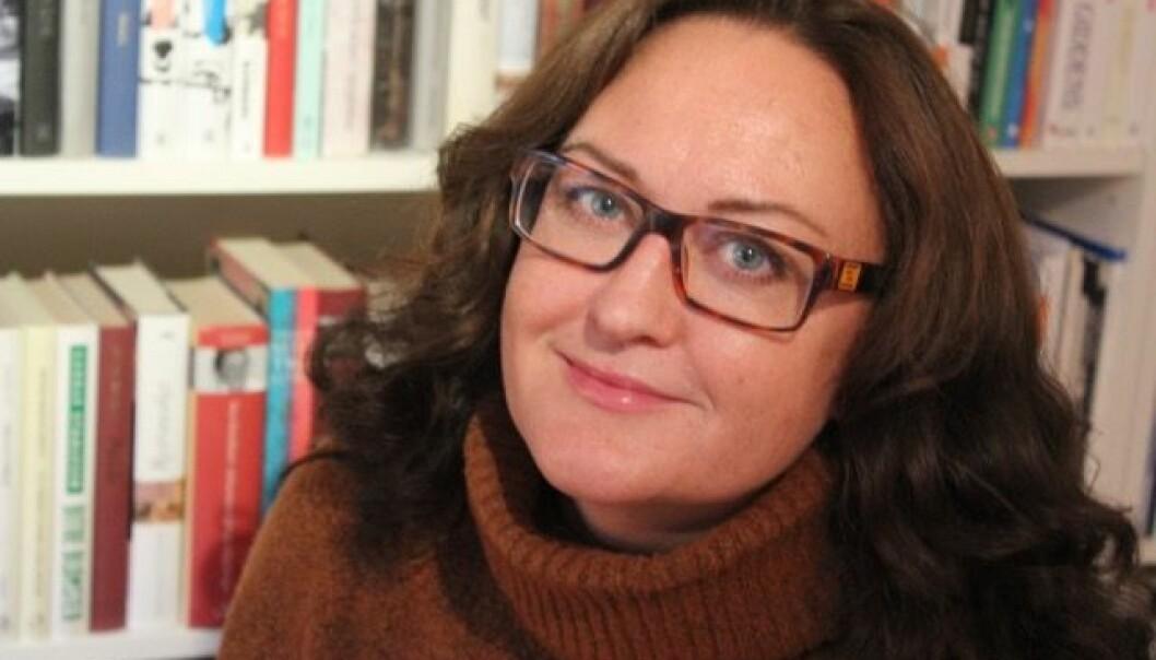 Da Marianne Løken startet på doktorgraden i 2008, hadde hun en jente på halvannet år. – Jeg har holdt på med avhandlingen i hele hennes barndom. Det kjenner jeg på, sier hun. (Foto: Steinar Knudsen)