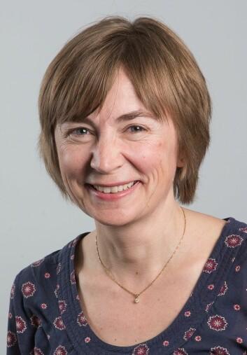Anne-Brita Knapskog er geriater og overlege ved Oslo universitetssykehus. (Foto: Martin Lundsvoll)