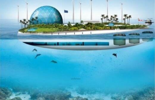 The oceans of tomorrow have floating islands