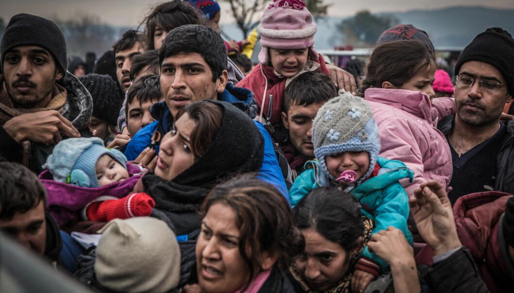 Flyktningstrømmen som har rammet Europa de siste månedene setter Dublin-avtalen på en hard prøve. Norskere forskere mener det er på tide med nye tiltak som ligger utenfor Dublin-systemet.  (Foto: Michaud Gael/NurPhoto, SipaUSA, NTB scanpix)