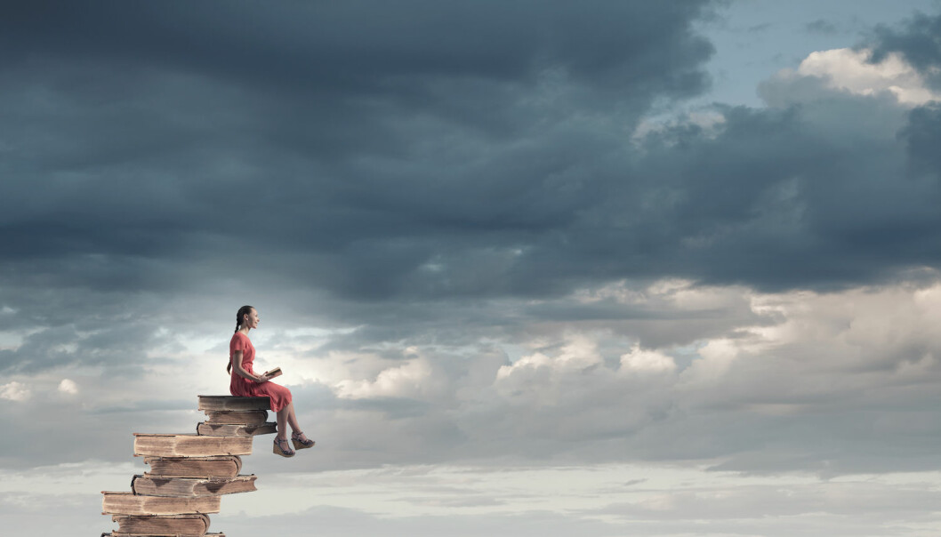 Litteraturen kan hjelpe oss med å reflektere over hva slags en verden vi holder på å skape.  (Illustrasjonsfoto: Shutterstock)