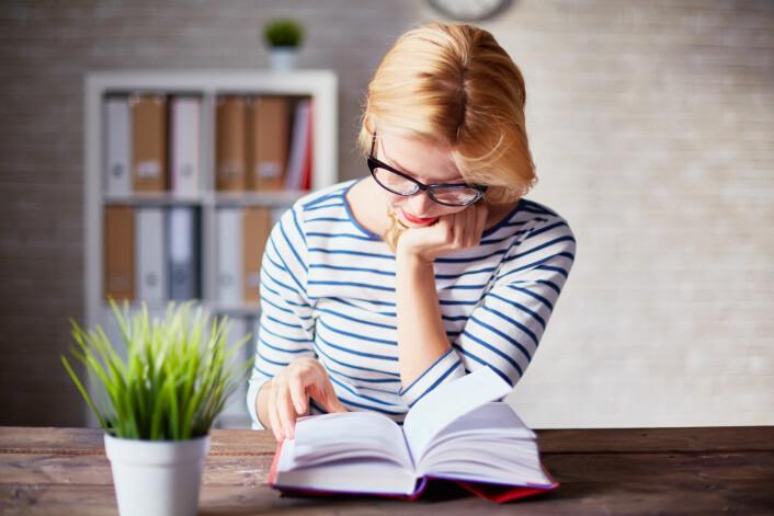 De siste ti år har det skjedd en voldsom vekst i antallet bøker som tar opp klimaendringene.  (Illustrasjonsfoto: Shutterstock)