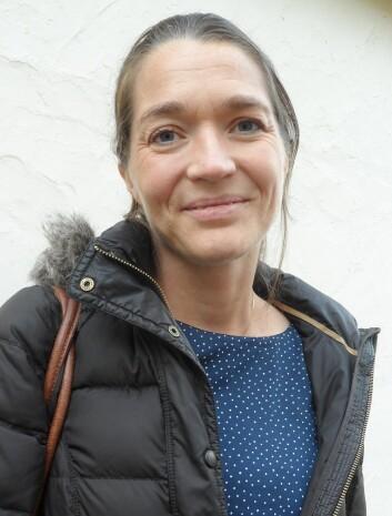 Forsker Kaisa Haglund ved Oslo universitetssykehus. (Foto: Anna Stella Kyed Johnsen)