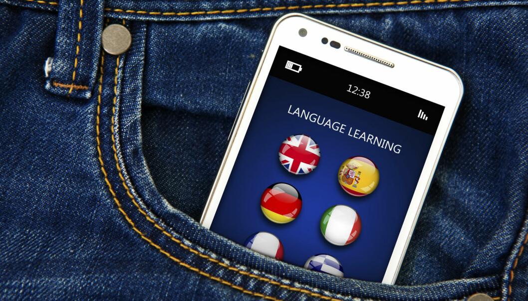 NTNUs språktjeneste er på vei over til mobilen. (Illustrasjonsfoto: Shutterstock)