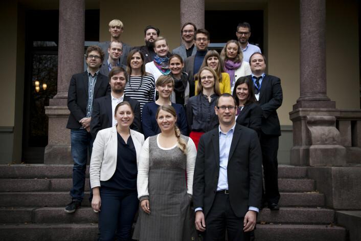 Akademiet for yngre forskere 2015 bredde. (Foto: Eirik Furu Baardsen)