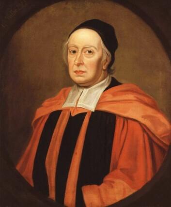 John Wallis malt av Godfrey Kneller. (Foto: (Kilde: Wikimedia Commons))