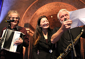 Edvard and May-Britt Moser finished their Nobel lecture with a music video