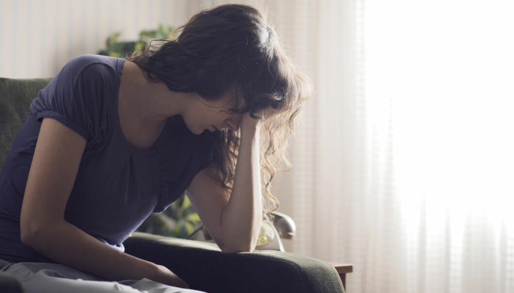 Depresjon rammer opp til hver femte danske. Det er imidlertid ikke alle som har nytte av antidepressive medisiner – kanskje vil det i fremtiden være mulig å avgjøre hvem det er.  (Foto: Shutterstock)