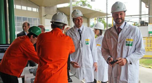 Kronprins Haakon markerte videre Brasil-satsning