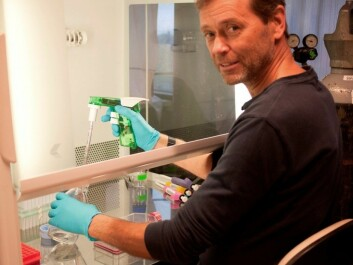 Professor Jan Øivind Moskaug works to ensure that our fat will benefit us in the future. (Photo: Guro Flinterud)