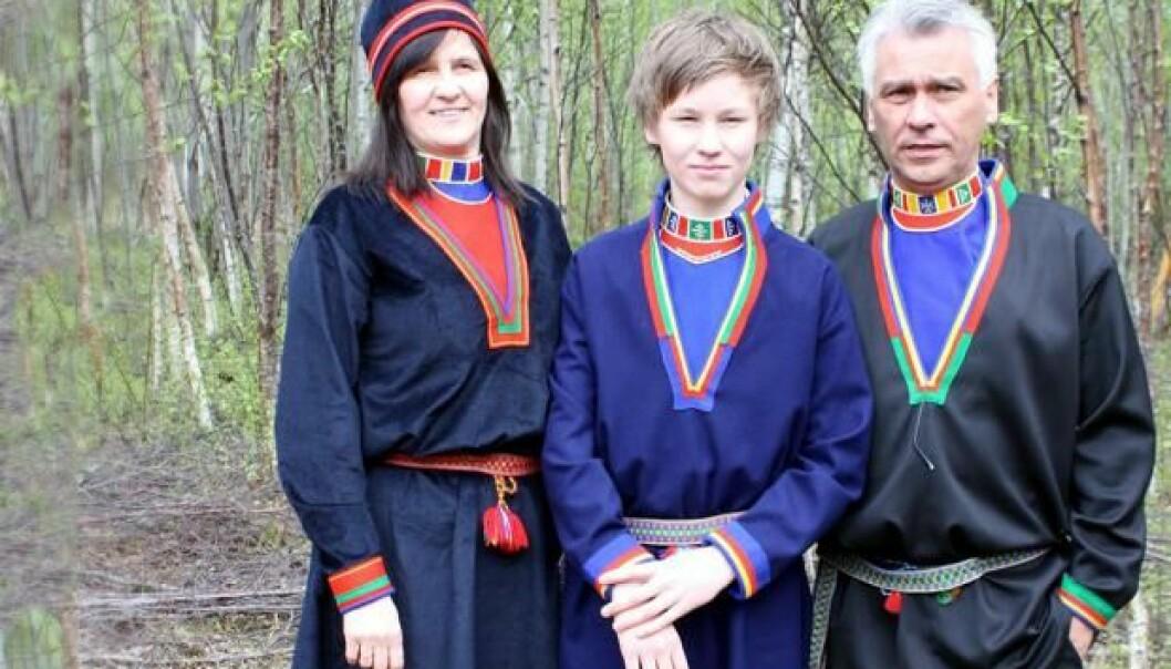 Det finnes minst ti samiske språk i Norge, Sverige, Russland og Finland, deriblant lulesamisk. Språket til lulesamene står på UNESCOs liste over alvorlig truede språk.  (Foto: Lis-Mari Hjortfors, Árran lulesamisk senter)