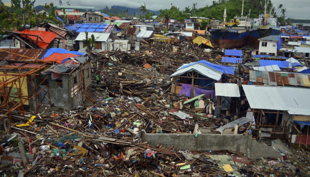 Tacloban lay in ruins after Typhoon Yolanda. (Photo: NTNU Livestudio)