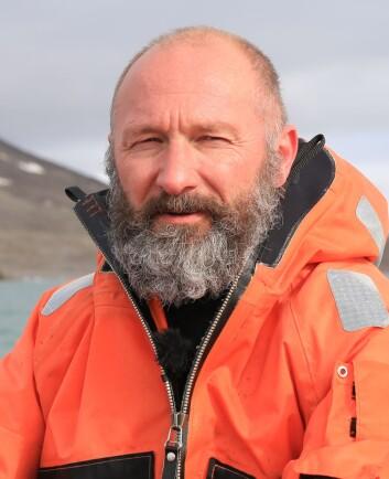 Richard Bellerby er professor ved Norsk institutt for vannforskning, NIVA.  (Foto: Ingvill Warholm, Warholm Film)