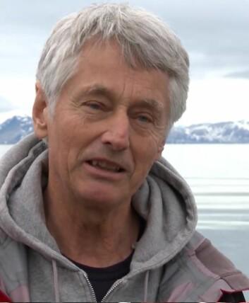Frede Thingstad, professor ved Institutt for biologi, Universitetet i Bergen.  (Foto: Skjermdump fra «De usynlige hjelperne», Warholm Film)